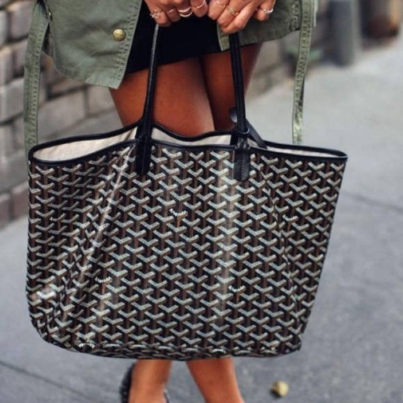 fashion styles reputable site buy best Goyard Bags | Price Firm Black St Louis Pm Tote Pouch | Poshmark